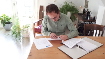 Ondertekening beroepingsbrief